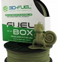 Un nouveau filament biodégradable à base d'algues !